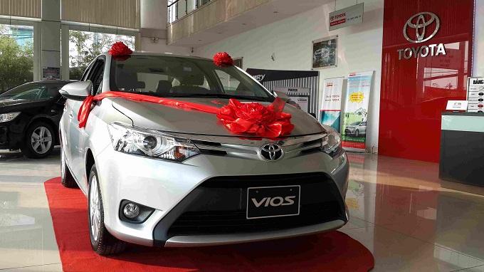 Đầu Xe Toyota Vios 1.5G 2016