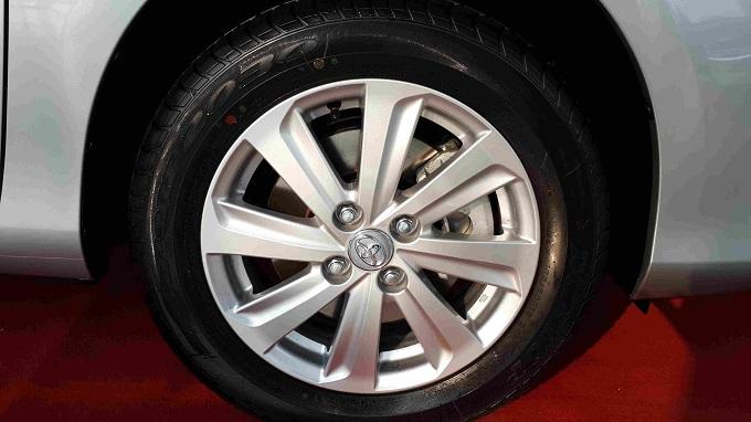Mâm xe Toyota Vios 1.5G 2016